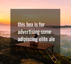 Advert Box